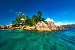 Belle île tropicale Images libres de droits