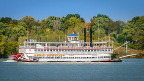 Belle of Louisville. Louisville, Kentucky, USA - Oct. 30, 2016: The Belle of Louisville is the oldest operating Mississippi River-style steamboat in the world stock images
