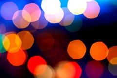 Belle luci del bokeh Fotografia Stock Libera da Diritti