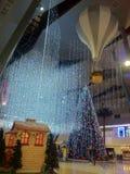 Belle luci di Natale fotografia stock
