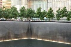 Belle lumière dans le musée de 911 mémoriaux Image libre de droits