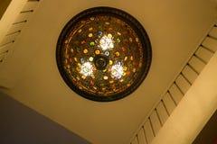 Belle lumière classique de décoration de lustre Image libre de droits