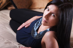 Belle Madame enceinte Image stock