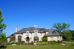 Belle maison Images libres de droits