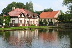 Belle maison Image stock