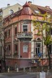 Belle maison au centre de Belgrade serbia photographie stock libre de droits
