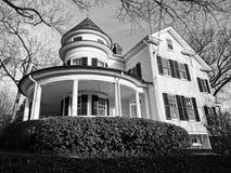 Belle maison dans le Washington DC Photos stock