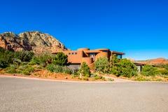 Belle maison de Sedona photo libre de droits