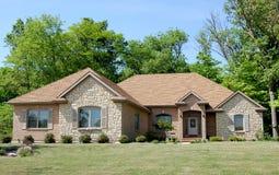 Belle maison modèle Photo libre de droits