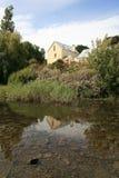 Belle maison près de Richmond Bridge, Tasmanie, Australie Image libre de droits