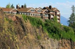 Belle maison sur la colline Photo libre de droits
