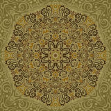 Belle Mandala Background Images libres de droits