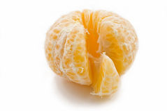 Belle mandarine mûre Photographie stock