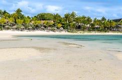 Belle Mare Plage in Mauritius Lizenzfreie Stockfotografie