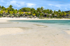 Belle Mare Plage in Mauritius Royalty Free Stock Photography