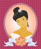 Belle mariée illustration libre de droits