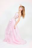 Belle mariée dans la robe élégante photos stock