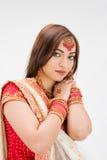 belle mariée de bangali Image libre de droits