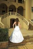 Belle mariée toscane avec du Br Photographie stock