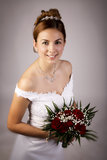 Belle mariée Photos stock
