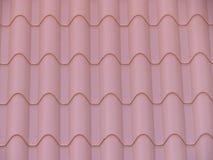 Belle mattonelle per coprire la casa di pioggia e di freddo immagine stock