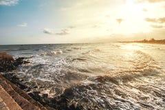 Belle mer Images stock