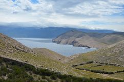 Belle Mer Adriatique en été de 2015 Photos stock