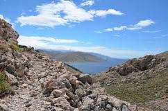 Belle Mer Adriatique en été de 2015 Photo libre de droits