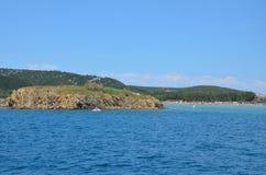 Belle Mer Adriatique en été de 2015 Images stock