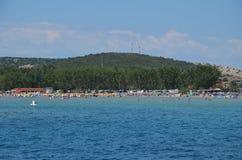Belle Mer Adriatique en été de 2015 Image libre de droits