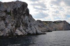 Belle Mer Adriatique en été de 2015 Photographie stock