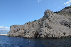 Belle Mer Adriatique en été de 2015 Photographie stock libre de droits