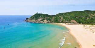 Belle mer du Vietnam dans Phu Yen, Vietnam Photos libres de droits