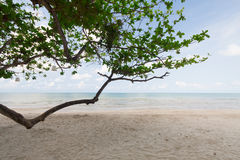 Belle mer et ciel bleu à la mer d'Andaman, Thaïlande Image libre de droits