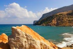 Belle mer scénique Photographie stock libre de droits