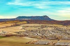 Belle montagna e valle in Crimea fotografia stock libera da diritti