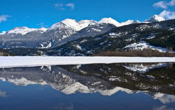 Belle montagne Fotografia Stock Libera da Diritti