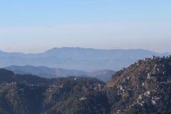 Belle montagne Photos libres de droits