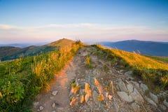 Belle montagne d'automne photo stock