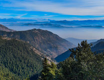 Belle montagne de muree Pakistan Image stock