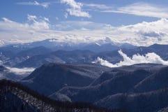 Belle montagne del nord - Caucaso occidentale Adygea immagine stock libera da diritti