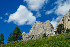 Belle montagne delle alpi, le dolomia Immagine Stock Libera da Diritti