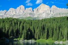 Belle montagne delle alpi, le dolomia Immagini Stock