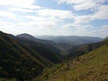 Belle montagne di Barberton fotografia stock