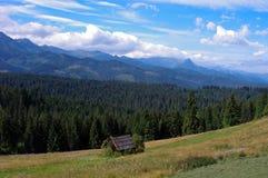 Belle montagne di Tatra del paesaggio Fotografia Stock