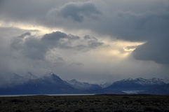 Belle montagne nella Patagonia, Argentina Immagine Stock
