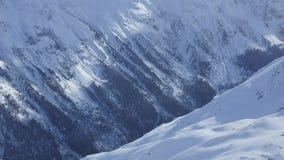 Belle montagne in Oetztal in Austria per lo sport e gli sport estremi nelle alpi in Europa Fotografia Stock Libera da Diritti