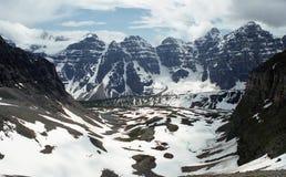 Belle Montagne Rocciose fotografia stock