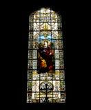 Belle mosaïque à l'intérieur d'une église catholique image libre de droits