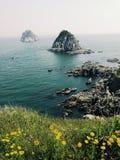 Belle nature à Busan, Corée du Sud photographie stock libre de droits
